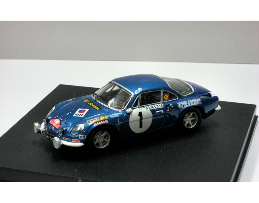 HACHETTE ALPINE RENAULT A110 1600 S TYPE ASEPTOGYL 1971 1:43