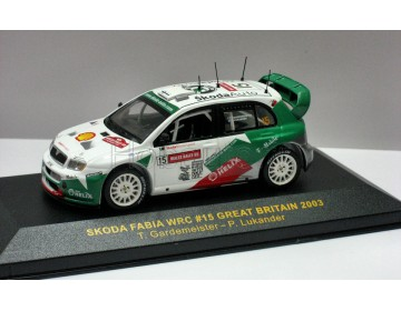 Skoda Fabia WRC - No.15 P.Lukander-T.Gardemeister - Great Britain Rally 2003